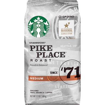 Starbucks Coffee Pike Place Medium Roast Coffee Beans