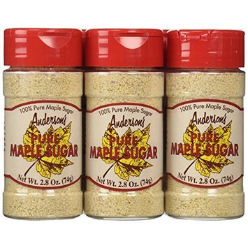 Andersons Anderson's Pure Maple Sugar, 2.8 ounce jars, 6-Count Package