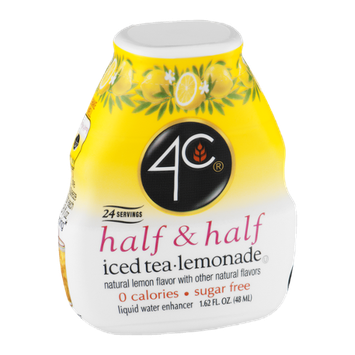 4C Half & Half Water Enhancer Iced Tea Lemonade