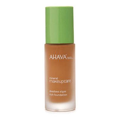 AHAVA Mineral Makeup Care Deadsea Algae Rich Foundation