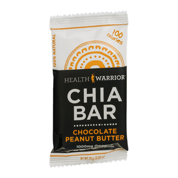 Health Warrior Chia Bar Peanut Butter