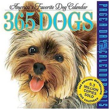 365 Dogs 2015 Calendar