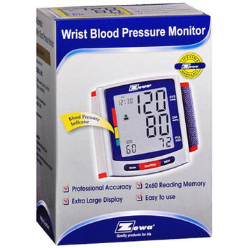 Zewa Automatic Wrist Blood Pressure Monitor WS-380PC