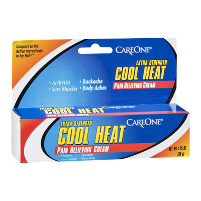 CareOne Cool Heat Pain Relieving Cream Extra Strength