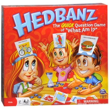 Spin Master Games Hedbanz Ages 6+, 1 ea