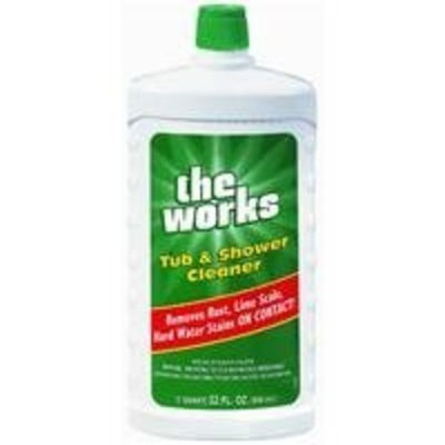 HomeCare Labs/ Works 03340WK The Works Tub & Shower Cleaner Refill