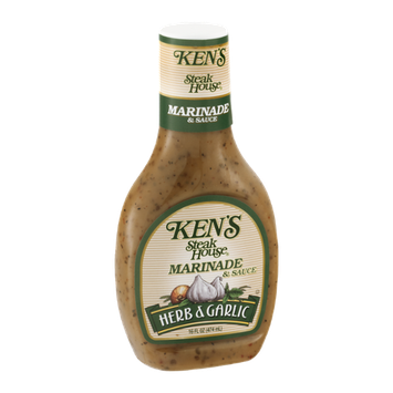 Ken's Steak House Marinade & Sauce Herb & Garlic