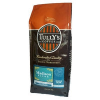 Tullys Coffee Tully's Coffee Madison Blend, Whole Bean, 12-Ounce Bags (Pack of 2)