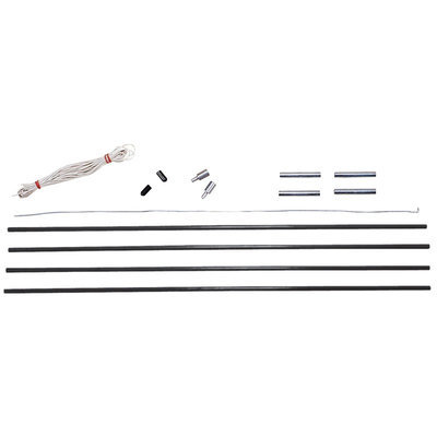 Standard Sales, Inc. Stansport Fiberglass Pole Replacement Kits - 9mm
