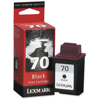 Lexmark Remanufactured 12A1970 (#70) Black Ink Cartridge