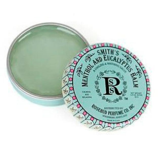 Rosebud Perfume Co. Smith's Menthol and Eucalyptus Balm