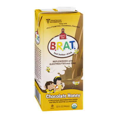 B.R.A.T. Organic Chocolate Honey Feel Better Drink