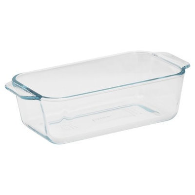 Pyrex Basics 1.5-Quart Loaf Pan, Glass