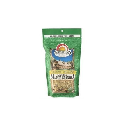 Grandy Oats Granola, 95% organic, Mainely Maple, 13 oz (pack of 6 ) ( Value Bulk Multi-pack)