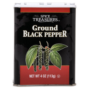 Spice Treasures Ground Black Pepper