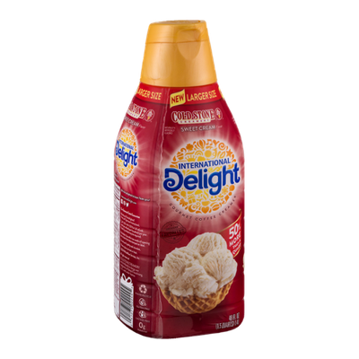 International Delight Gourmet Coffee Creamer Cold Stone Creamery Sweet Cream