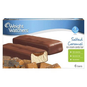 Weight Watchers Salted Caramel Ice Cream Candy Bar 6 ct