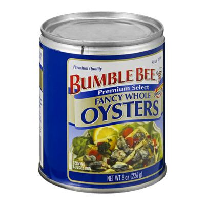 Bumble Bee Premium Select Fancy Whole Oysters