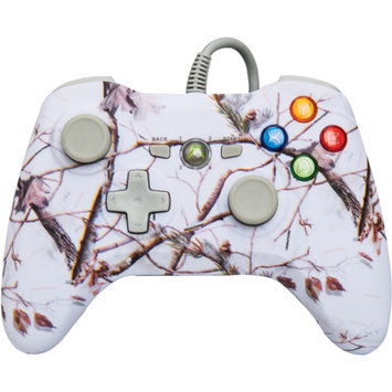 POWER A Pro Ex Wired Realtree Wired Controller (Xbox 360), AP Snow