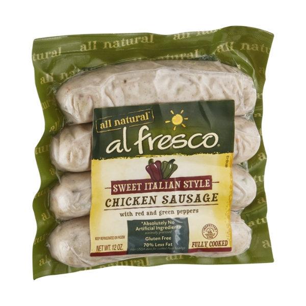Al Fresco All Natural Chicken Sausage Sweet Italian Style