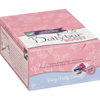 Bellybar Boost Berry Nutty Cravings Nutrition Bars