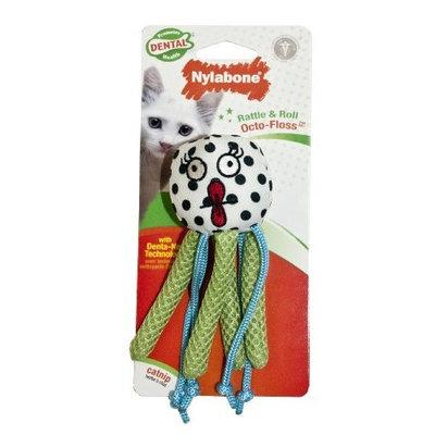 Nylabone Cat Dental Rattle & Roll Octo-Floss