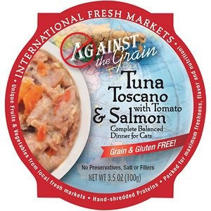 Against the Grain Tuna Toscano with Salmon and Tomato Dinner for Cats
