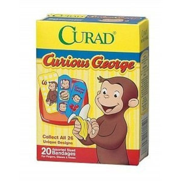 Medline CURAD BANDAGES CURIOUS GEORGE Size: 20