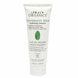 Skin by Ann Webb Organic Peppermint Milk Hydrating Cleanser