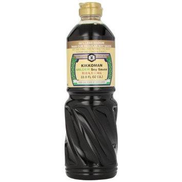 Kikkoman Milder Soy Sauce, 33.8-Ounce (Pack of 2)