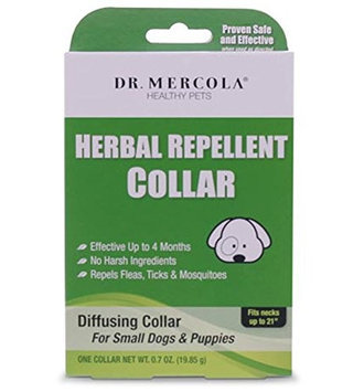 Dr Mercola Herbal Repellent Collar - Small Dogs & Puppies