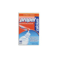 Propel Vitamin Enhanced Powder Water Beverage Mix, Citrus Punch, 10 Packets (Pack of 3)
