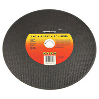 Forney 72356 Chop Saw Blade Type 1 High Speed Metal with 1-Inch Arbor A24R-BF 14-Inch-by-5/32-Inch