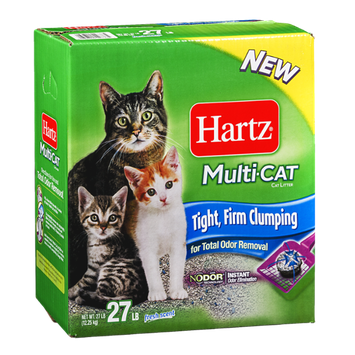 Hartz Multi-Cat Cat Litter Fresh Scent 27 LB