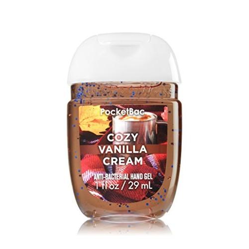 Bath & Body Works PocketBac Hand Sanitizer Gel Cozy Vanilla Cream