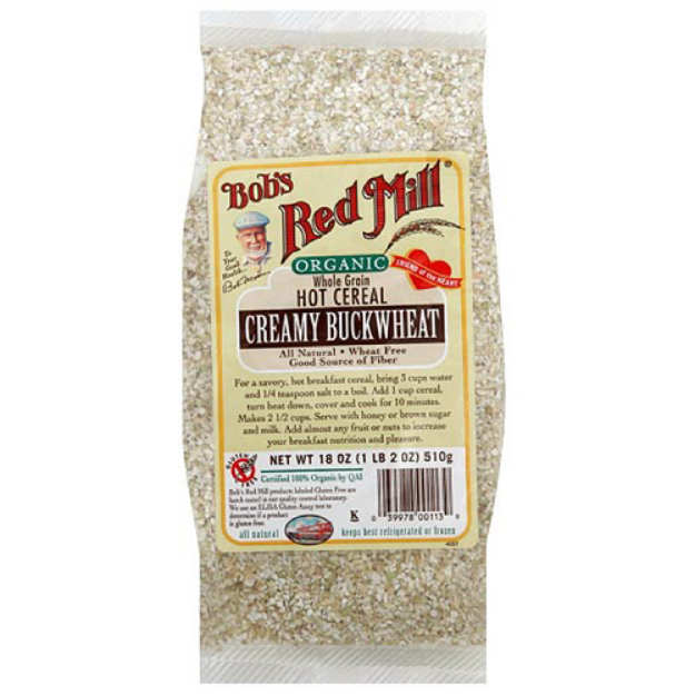 Bob's Red Mill Organic Hot Cereal Buckwheat
