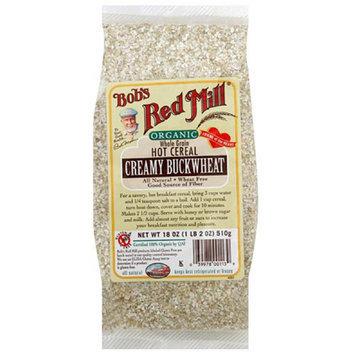 Bob's Red Mill Organic Whole Grain Hot Cereal Creamy Buckwheat