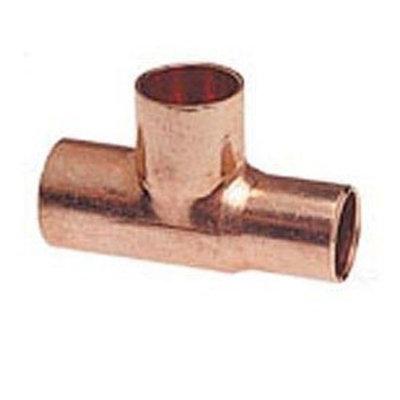 Bullhead Tee Copper X Copper X Copper - 1/8