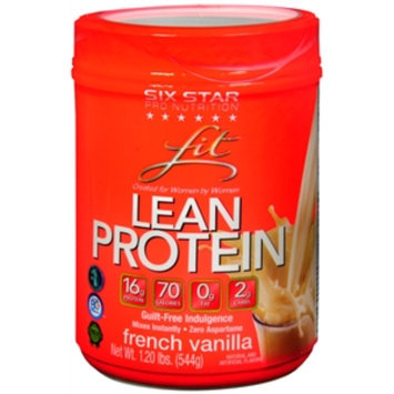 Six Star Fit Whey Protein, French Vanilla, 19.2 oz