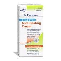 Genuine Virgin Aloe/Tri Derma Diabetic Foot Healing Cream by TriDERMA