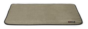 Big Shrimpy Landing Pad Faux Suede Crate Mat, Medium, Stone