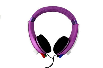 IHip IP DOODLE P DJ Style Erasable Drawing Headphones With Four Built In Markers Pink H3C0DI9YV-1612