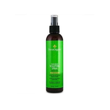 Dermorganic Flex Hold Sculpting Spray with Argan Oil Hair Spray for Unisex, 8.5 Ounce