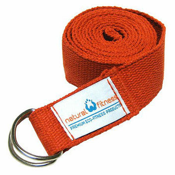 Natural Fitness Hemp Yoga Strap