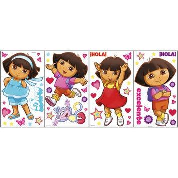 Blue Mountain Wallcoverings Nickelodeon Dora the Explorer Self Stick Rainbow Stars Appliqu