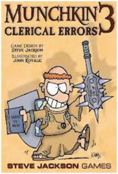 Steve Jackson Games Munchkin 3 Clerical Errors