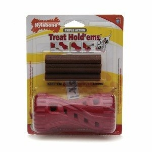 Nylabone Triple Action Treat Hold 'ems