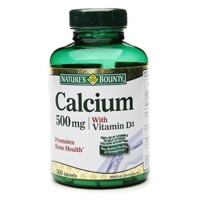 Nature's Bounty Calcium 500mg with Vitamin D3
