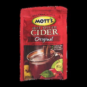 Mott's Hot Spiced Cider Drink Mix Original
