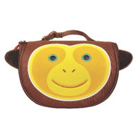 Built Big Apple Buddies Lunch Bag - Brown Monkey